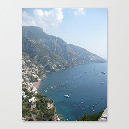Amalfi Coast Canvas Print