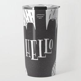 HELLO ASSHOLE Travel Mug