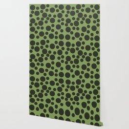 Army Green Dots Wallpaper