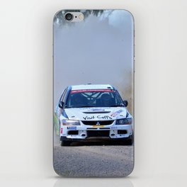 New England HWY rally iPhone Skin