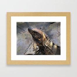 Haughtiness Framed Art Print