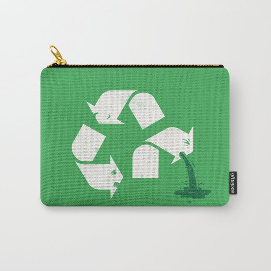 Green Sickness Carry-All Pouch