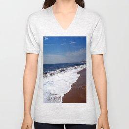 Beach Series: Foam Unisex V-Neck