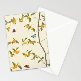 Jenny Chinoiserie Kumquat Stationery Cards