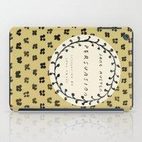 jane austen iPad Cases featuring Remember Jane Austen (5) - Persuasion by MW. [by Mathius Wilder]