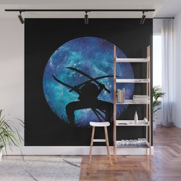 Zoro Silhouette Hunter Wall Mural