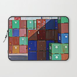 Colorful containers II Laptop Sleeve