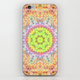 Deep Thought Mandala iPhone Skin