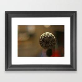 Sing Me a Song Framed Art Print