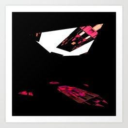 One Window in the darkroom Art Print
