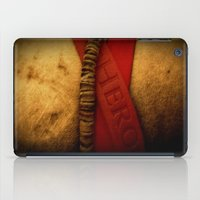 hero iPad Cases featuring HERO by Andy Burgess
