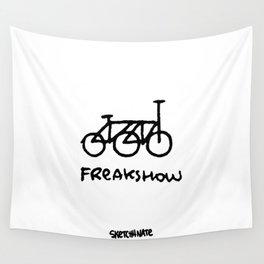freakshow bike Wall Tapestry