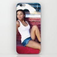 houston iPhone & iPod Skins featuring Houston Summer by Joshua Banks