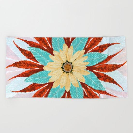 Botany Star Beach Towel