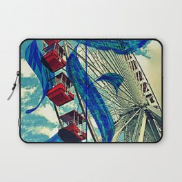 Letter F is for Ferris Wheel and Bueller Laptop Sleeve