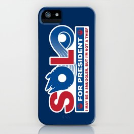 Solo for President iPhone Case