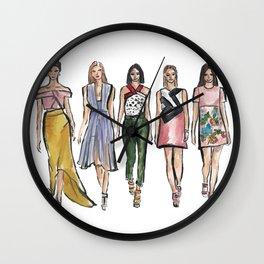 Dress to Impress Wall Clock
