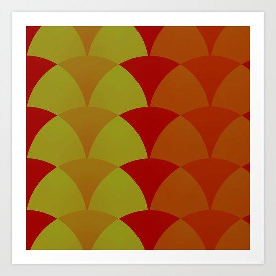 Polyester Pantsuit Art Print