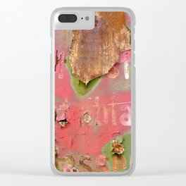 Colors of Rust _873 / ROSTart Clear iPhone Case