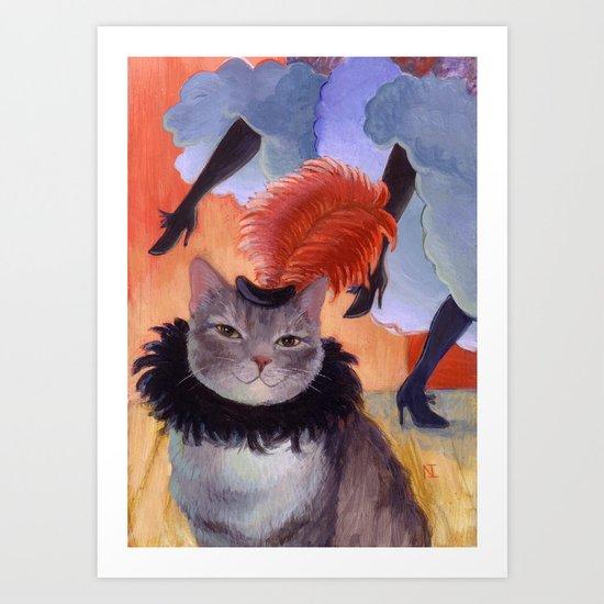 Madame Musket Art Print