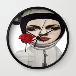 from outer space Wall Clock