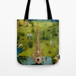 """Hieronymus Bosch """"The Garden of Earthly Delights"""" - The Heaven or The Creation Tote Bag"""