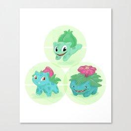 Poké: 1-2-3 Canvas Print