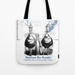 Delaware Bay Oysters Tote Bag
