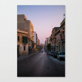 maltese streets Canvas Print