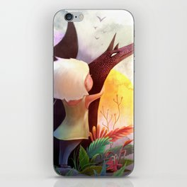 Together In The Sun iPhone Skin