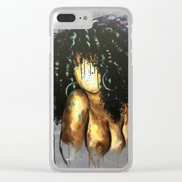 Naturally LXVIII Clear iPhone Case