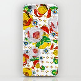 Canal Flowers Chaos pattern iPhone Skin