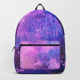 Nightingale Abstract Painting Backpack