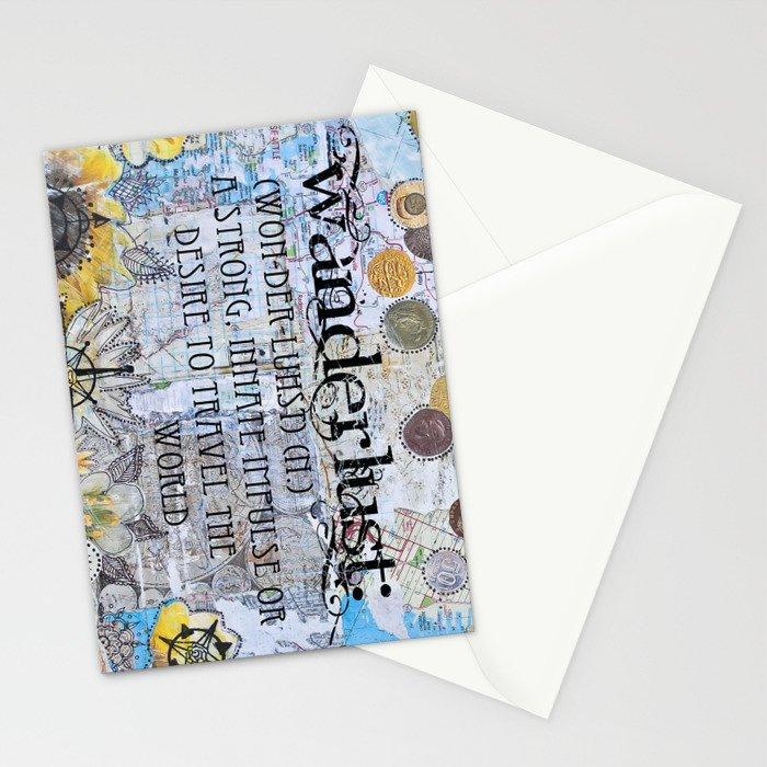 Wanderlust Stationery Cards