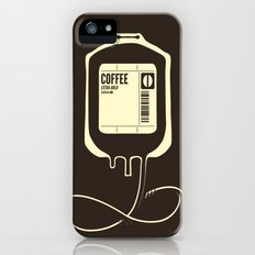 Coffee Transfusion iPhone (5, 5s) Slim Case