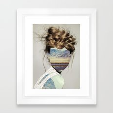 Haircut 1 Framed Art Print