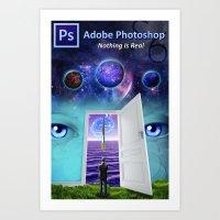 Photoshop Poster Art Print