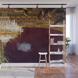 Behind The Curtain Wall Mural