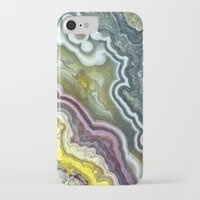 white marble iPhone & iPod Cases featuring Marble by Santo Sagese