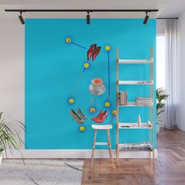 Things Happen to May in May - Shoes Stories Wall Mural