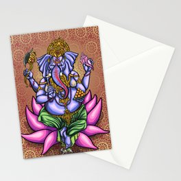 Lord Ganesh Stationery Cards