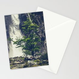 Aber Falls, Wales Stationery Cards
