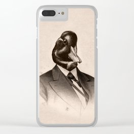 Uncle Manning Clear iPhone Case