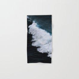 Powerful breaking wave in the Atlantic Ocean - Landscape Photography Hand & Bath Towel