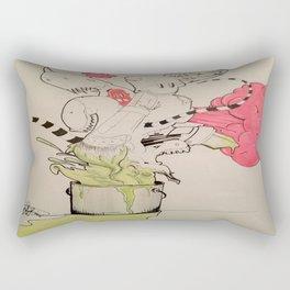 BUCKET FULL OF MONSTERS Rectangular Pillow
