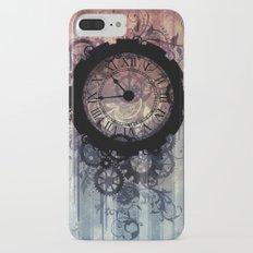 Steampunk clock Slim Case iPhone 7 Plus