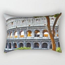 Roman Coloseum Rectangular Pillow