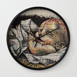 Away in a Manager Wall Clock