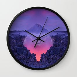 The mutation of the volcano Wall Clock