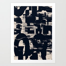 Typefart 001 Art Print